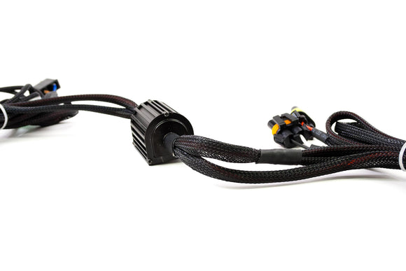 H11: Dual Output Motorcycle Harness - DropGearz Motorsports