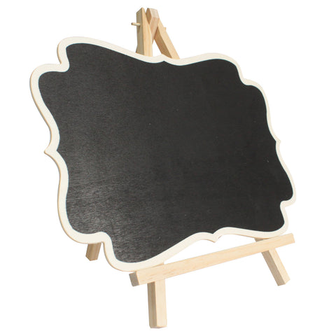 Large Blackboard Fixed on Stand