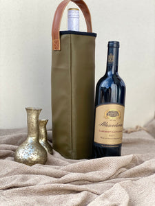 Riche Olive Wine Bag