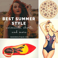 Tattoo Inspired Swimsuits & Summer Wear
