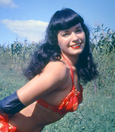 Bettie Page Pin-up Costume