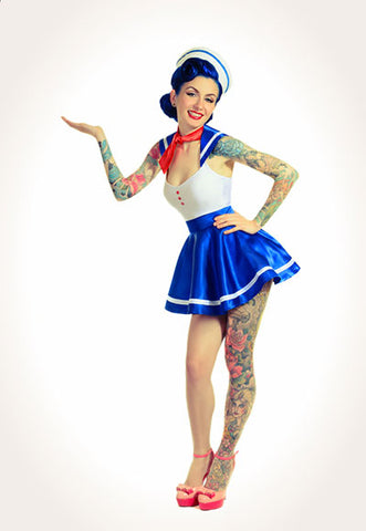 Sailor Girl Pin-up Costume