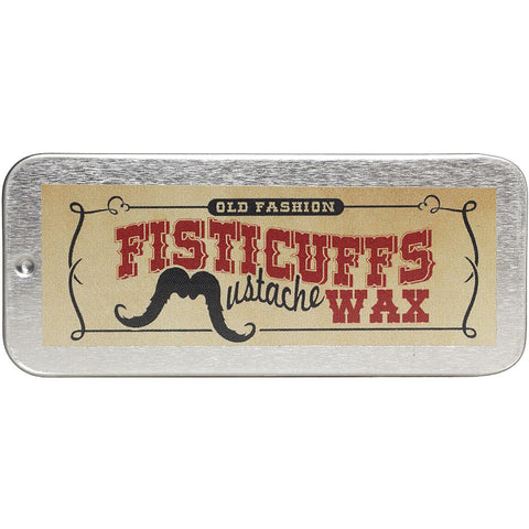 Fisticuffs Mustache Wax Original Retro Rockabilly Beard Life Grooming