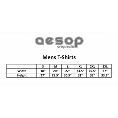 Men's Aesop Originals Inked Up From My Feet Up T-Shirt Tattoo Ink Tattooed