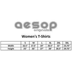 Women's Aesop Originals On Everyday We Wear Black T-Shirt Goth Punk