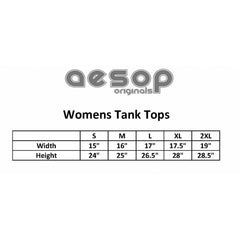 Women's Aesop Originals In The Skin Tank Top Tattoo Ink Inked Tattooed
