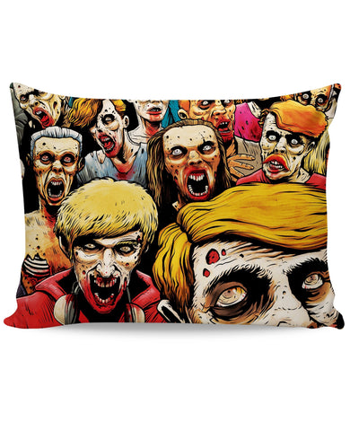 Zombies at the Mall Pillow Case