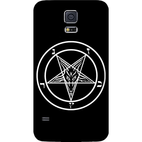Mayhem Marilyn Baphamet Pentagram Galaxy Case