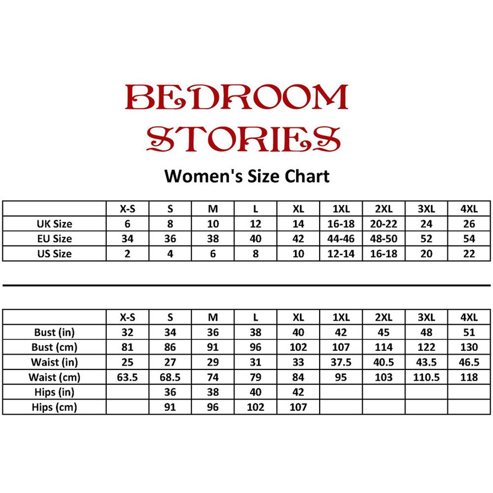 Bedroom Stories Basic Corset Front Zip Steel Boning Lingerie