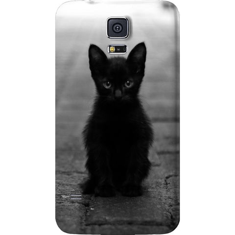 Mayhem Marilyn Black Cat Galaxy Case