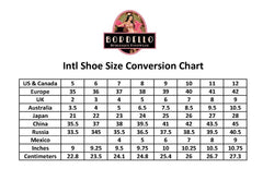 Bordello Teeze 04R Strap Heel Iridescent Rinestones Bow Pin Up Rockabilly
