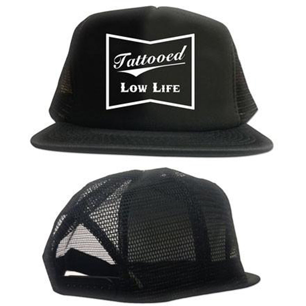 Cartel Ink Tattooed Low Life Trucker Hat Inked Tattoo