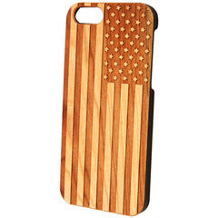 Case Worx American Flag Wood Cell Phone Case Patriotic