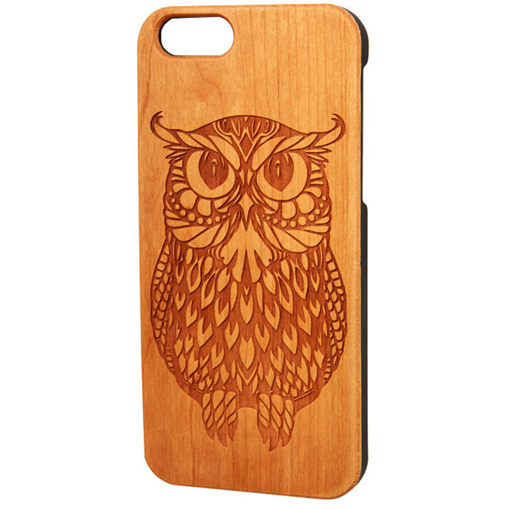 Case Worx Owl Wood Cell Phone Case