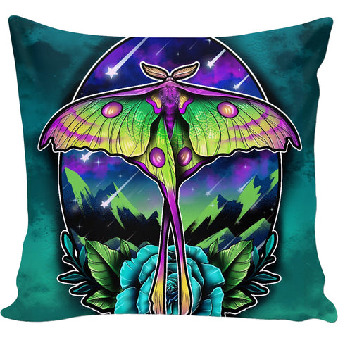 Comet Moth Pillow