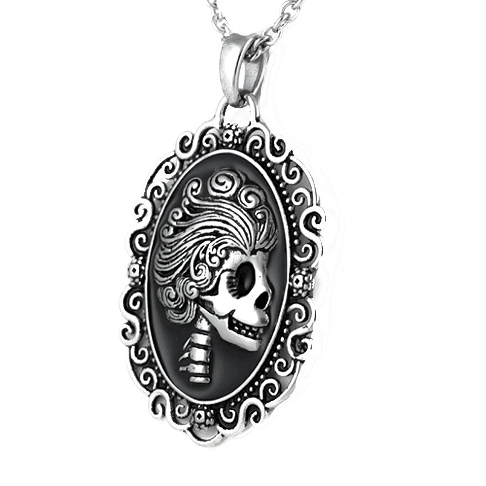 Controse Jewelry Ghoulish Glamour Necklace Skeleton