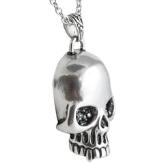 Controse Jewelry Glimmer In Your Eyes Necklace Skull Punk Goth