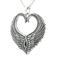 Controse Jewelry Love Wings Necklace  Heart