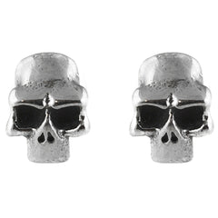 Controse Jewelry Stainless Steel Skull Earrings Punk Goth