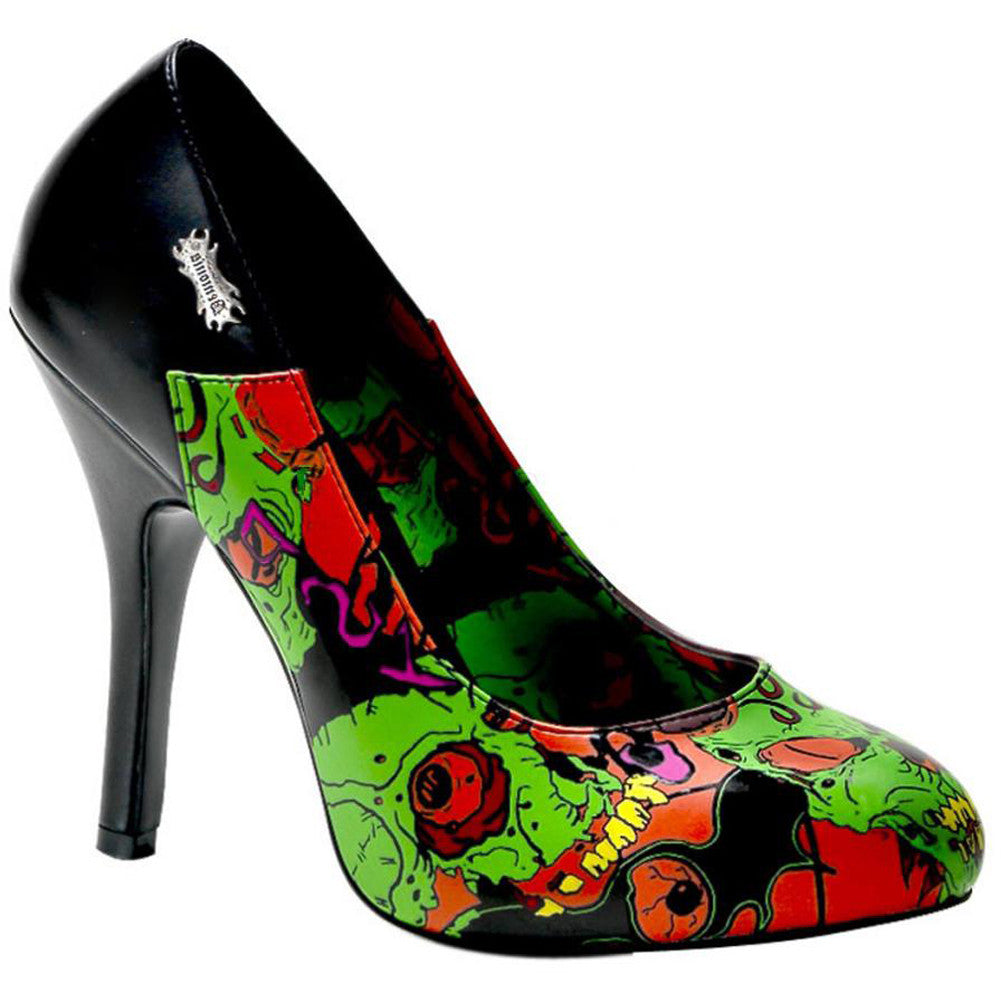 Demonia Zombie 04 Heel Punk Psychobilly Horror Halloween Living Dead