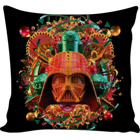 Digital Empire Pillow Multicolor