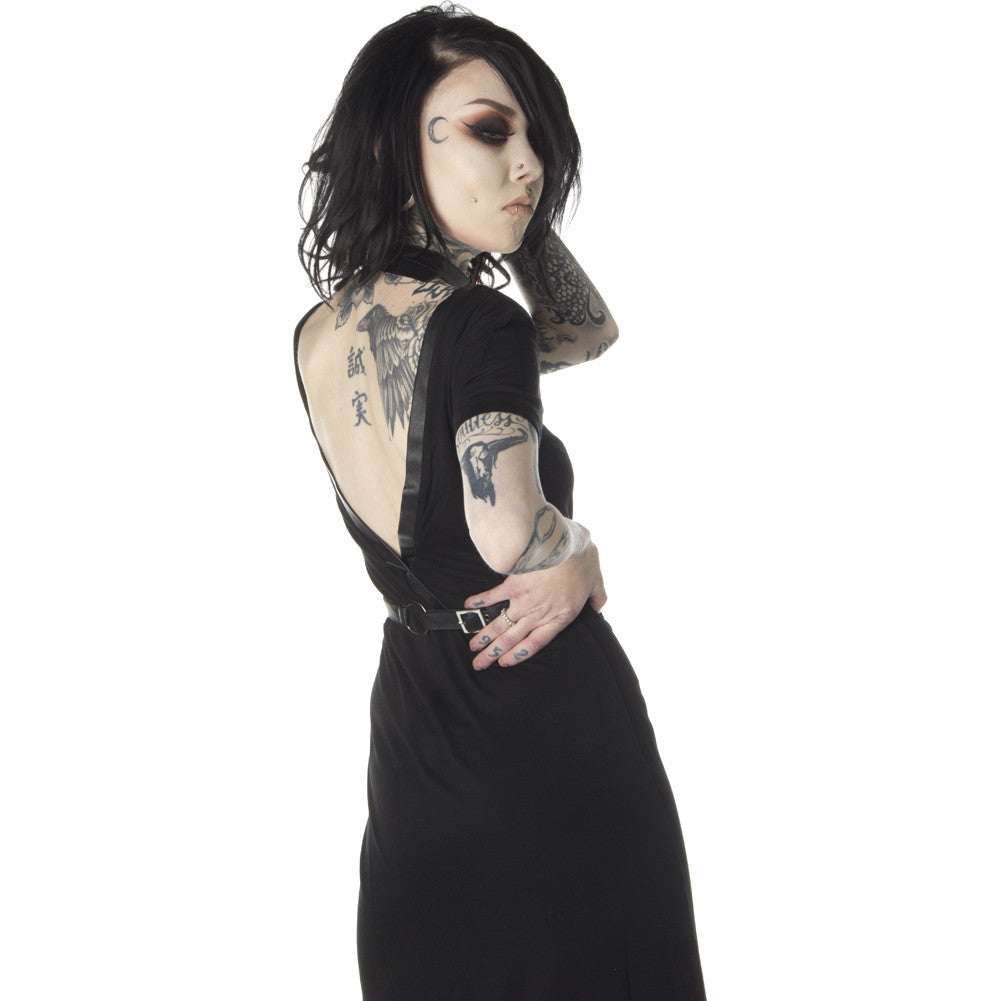 Disturbia Choke Dress Black