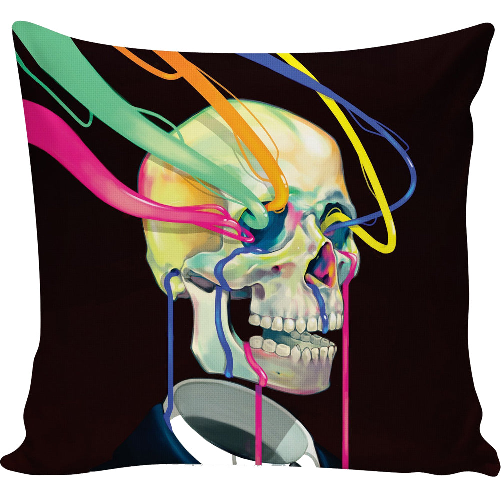 Dorian Skull Pillow