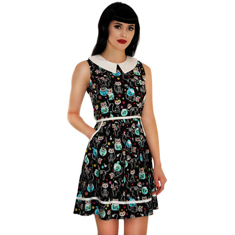 Folter Meow Or Never Dress Black