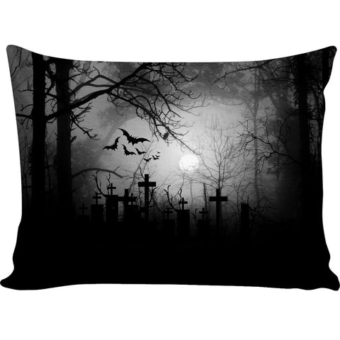 Mayhem Marilyn Graveyard Pillow Case