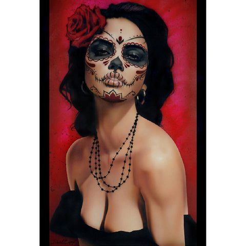 Isabella Muerta by Daniel Esparza Canvas Giclee Day of the Dead Los Muertos