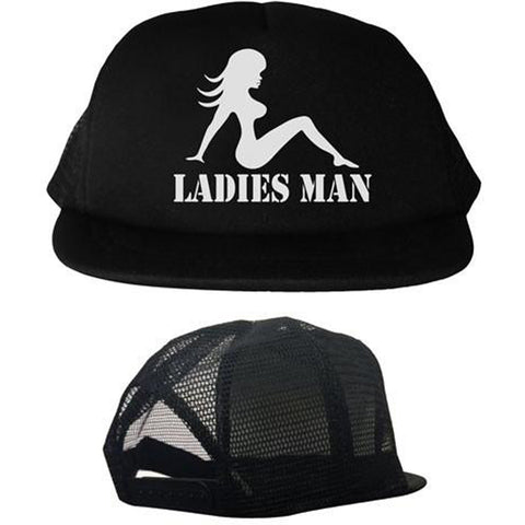Kid's Cartel Ink Ladies Man Trucker Hat Mud Flap Girl