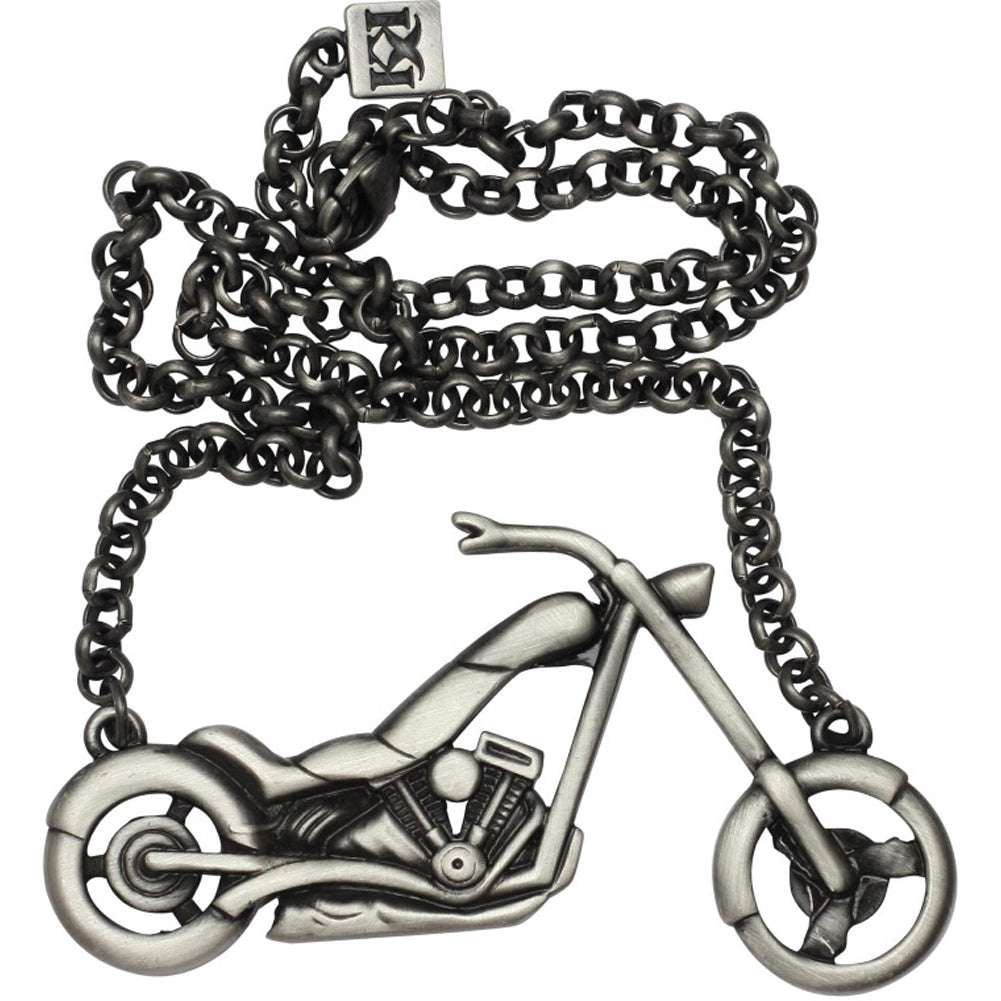 Kitsch N Kouture Chopper Necklace Motorcycle