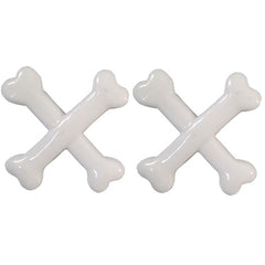 Kreepsville 666 Crossbones Hairslide White Horror Halloween