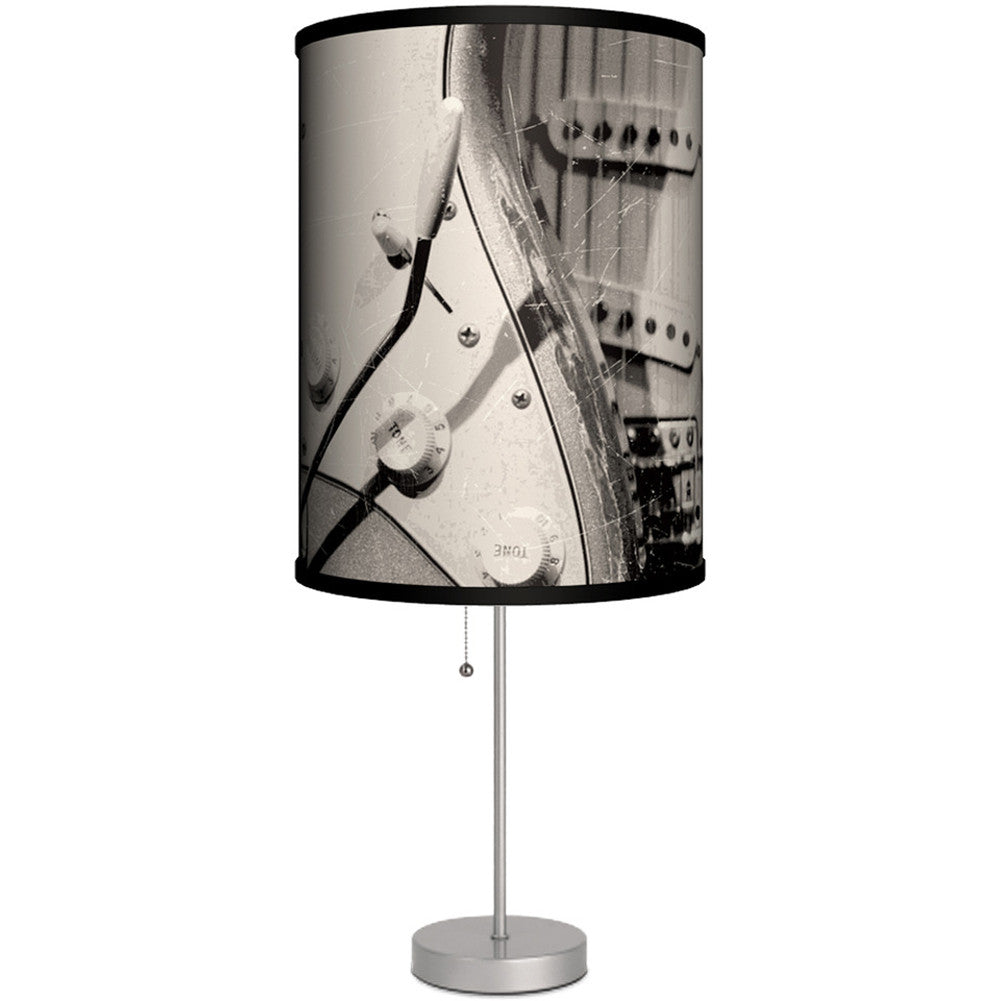 Lamp in a box electric guitar table lamp aloadofball Images