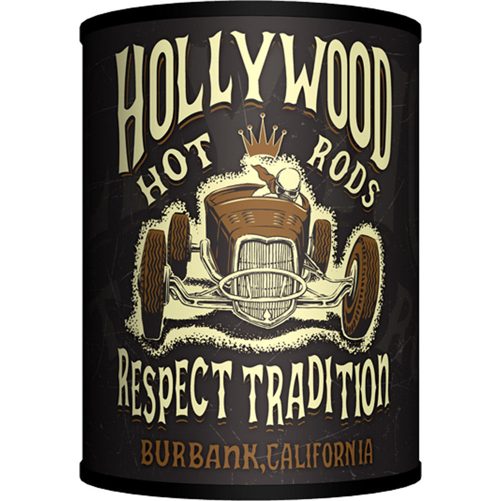 Lamp-In-A-Box Hollywood Hot Rods Respect Tradition Table Lamp Kustom Kulture