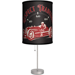 Lamp-In-A-Box Hollywood Hot Rods Speedometer Table Lamp Kustom Kulture