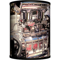 Lamp-In-A-Box Hot Rod Engine Table Lamp Classic Car Rockabilly Gearhead