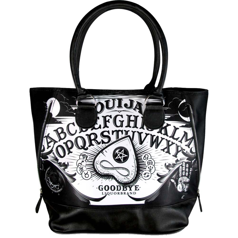 Liquor Brand Ouija II Handbag Occult Goth Witch Witchcraft Paranormal