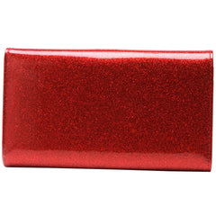 Lux De Ville Getaway Wallet Red Sparkle Retro Vintage Rockabilly Pin Up Hot Rod