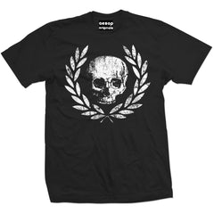 Men's Aesop Originals Death Or Glory T-Shirt Black Skull