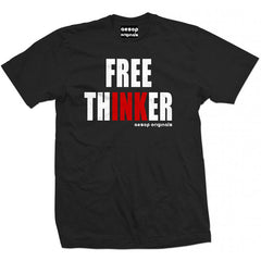 Men's Aesop Originals Free Thinker T-Shirt Tattoo Inked Tattooed Lifestyle