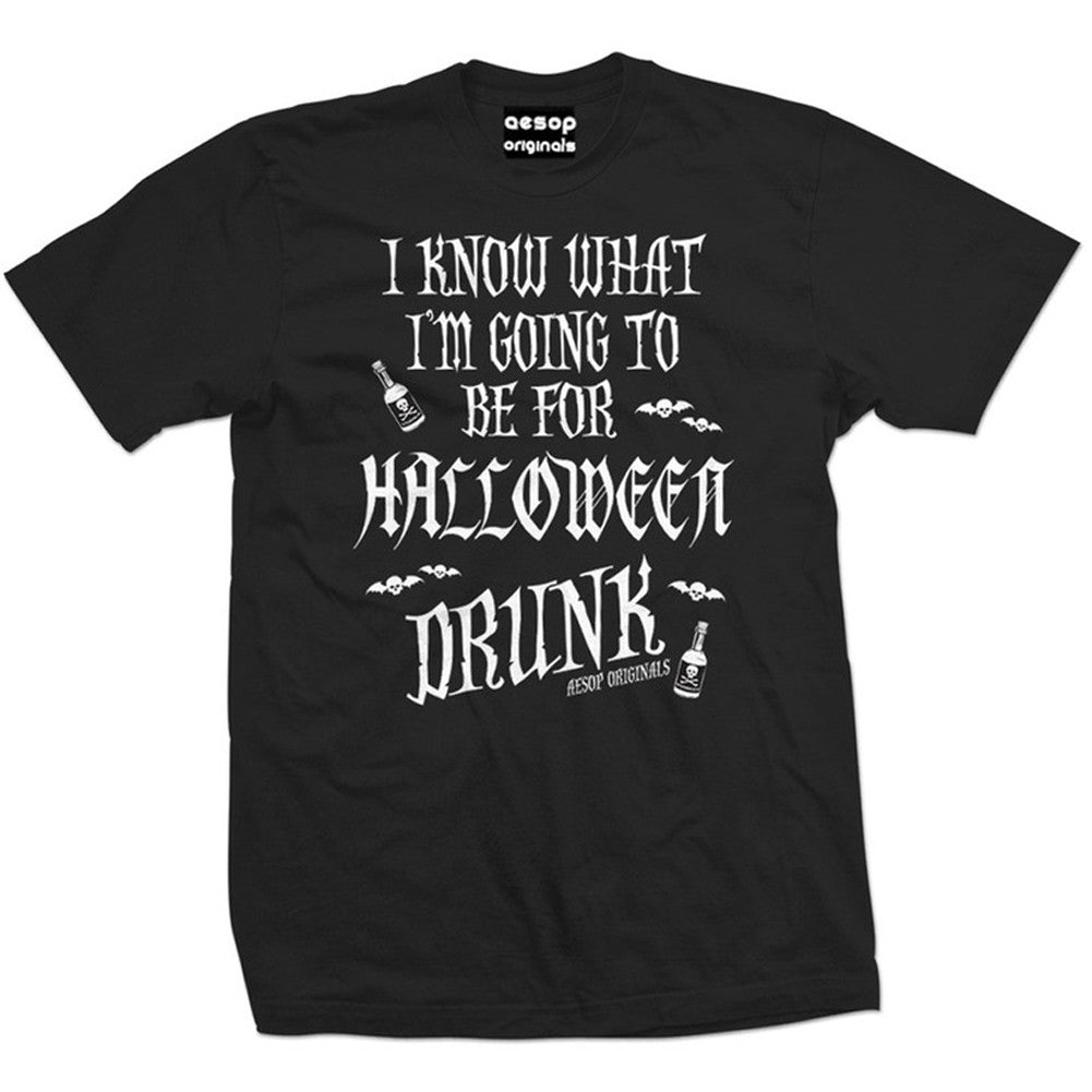 Men's Aesop Originals I Know What I'm Going To Be For Halloween Drunk T-Shirt
