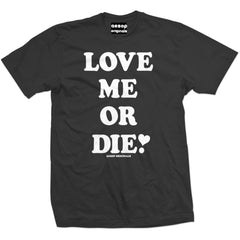 Men's Aesop Originals Love Me Or Die T-Shirt Black Valentines