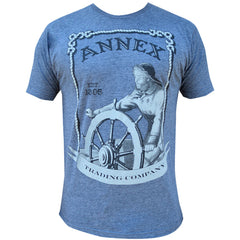 Men's Annex Clothing Trading Company T-Shirt Vintage Retro Nautical Sailor