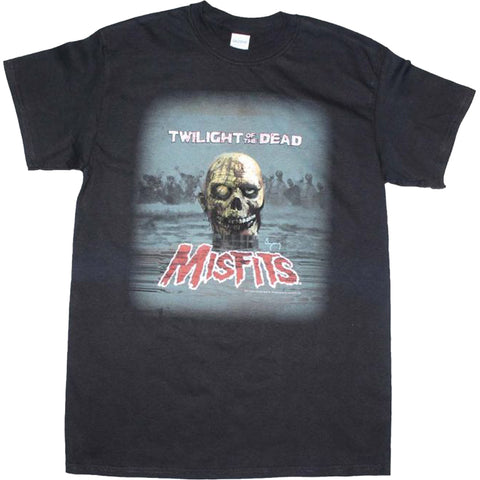 Men's Misfits Arthur Suydam Zombie T-Shirt Old School Punk Rock Band Music