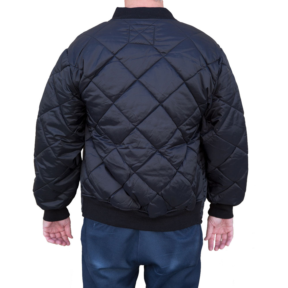 4d85c0e4b3d6 Men s Black Market Art Diamond Quilted Jacket Black