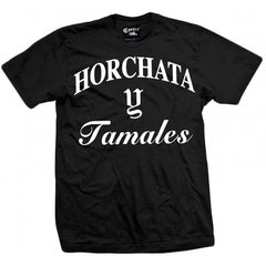 Men's Cartel Ink Horchata Y Tamales T-Shirt Latino Mexican Food