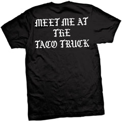 Men's Cartel Ink Meet Me At The Taco Truck T-Shirt Black Mexican Food Latino