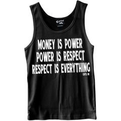 Men's Cartel Ink Respect is Everything Tank Top Money Power