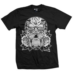 Men's Cartel Ink Sugar Skull T-Shirt Mexican Day of the Dead Tattoo